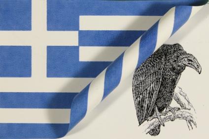 Griechenland Pleitegeier