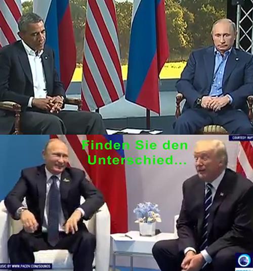 Vergleich Trump Obama
